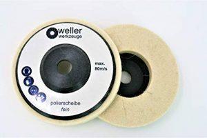 1x Disque de polissage polissage roue pour Bosch GWS 10,810812V 1276Accessoires acier inox Meuleuse d'angle de la marque WE-R image 0 produit