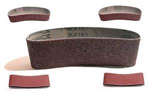 10 bandes abrasives en tissu 75 x 533 mm grain 2 x 40/60/80/120/180 pour ponceuse à bande pour ponceuse à bande de la marque TD-Warenhandel image 0 produit