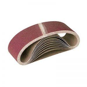 10 Bandes abrasives MENZER pour ponceuses à bande - 610 x 100 mm - grain 120 de la marque MENZER image 0 produit