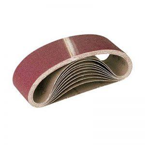 10 Bandes abrasives MioTools pour ponceuse à bande - 457 x 75 mm - grain 40 de la marque MioTools image 0 produit