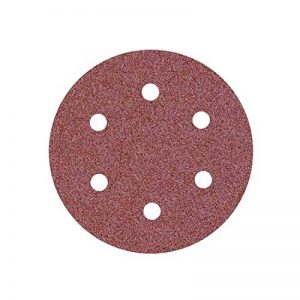 10 Disques abrasifs auto-agrippants MioTools pour ponceuse girafe - Ø 225 mm - grain 16 - 6 trous de la marque MioTools image 0 produit