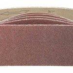 10pièces de tissus Bandes abrasives pour ponceuse à bande 75x 533–Grain 80/Papier abrasif/bandes abrasives de la marque S&S-Shop image 1 produit