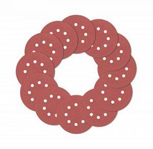 120pcs Disques abrasifs Coussinets, crochet et boucle 406080100120150180240320400600800Grain 8-holes assortis d'abrasif pour ponceuse orbitale de la marque HXBG image 0 produit