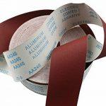 1Meter Emery Rouleau de polissage de papier de verre pour le meulage rotatif Outils de polissage Metalworking 80/100/120/150/180/240/320/400/600 de la marque CaiMei Polish Tool image 4 produit