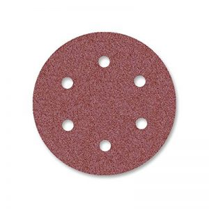 25 Disques abrasifs auto-agrippants MioTools pour ponceuse girafe - Ø 225 mm - grain 120 - 6 trous de la marque MioTools image 0 produit