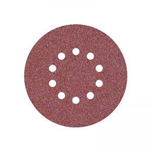 25 Disques abrasifs auto-agrippants MioTools pour ponceuse girafe - Ø 225 mm - grain 80 - 10 trous de la marque MioTools image 0 produit