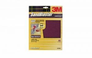 """3m 20080P80""""décapage de peinture"""" Gros grain SandBlaster papier abrasif Feuille abrasive–Doré (lot de 3), or, 20150 de la marque 3M image 0 produit"""