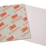 3m 2602Super fine abrasif Ligue 1–éponge de ponçage (moitié–Boîte de 10pcs) Grade Gamme 500# -600# de la marque GB-Materials image 2 produit