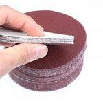 30PCS 6 pouces 150mm de Sable Disque Sand Feuilles 320/400/600/800/1000/1500 Hook & Loop disque de Ponçage pour Sander Grits de la marque CaiMei Polish Tool image 1 produit