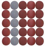 30pcs / Lot 75mm-80mm 3 pouces Grit 800 1000 1200 1500 2000 3000 Disques de Ponçage Recharge de Boucle de Crochet Papier Sablé Rond Sand de la marque CaiMei Polish Tool image 3 produit