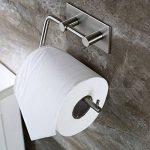 3M Adhésif Porte-Rouleau pour Papier WC Salle de Bain Support Papier Toilette , Brossé Acier Inoxydable de la marque Zunto image 1 produit