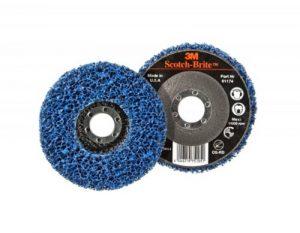 3M CG-RD GP Scotch-Brite Clean and Strip Disque de nettoyage Bleu 115 x 22mm de la marque Scotch-Brite image 0 produit