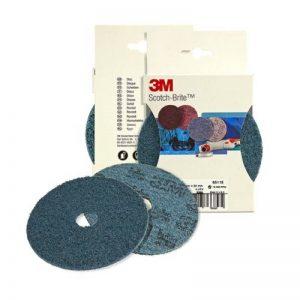 3M Scotch-Brite SC-DH Lot de 5 disques de finition grain très fin 125 x 22 mm de la marque Scotch-Brite image 0 produit