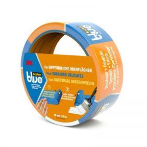 3M ScotchBlue Ruban Masquage pour Surfaces Délicates 36mm x 25m 1 Rouleau Bleu de la marque Scotch image 0 produit