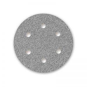 5 Disques abrasifs auto-agrippants MENZER pour ponceuses girafes - Ø 225 mm - grain 40-6 trous de la marque MENZER image 0 produit