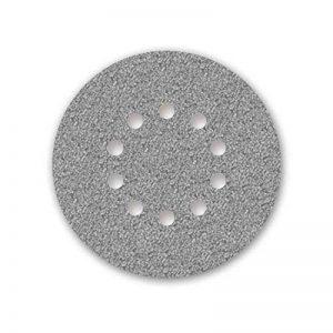 5 Disques abrasifs auto-agrippants MENZER pour ponceuses girafes - Ø 225 mm - grain 80-10 trous de la marque MENZER image 0 produit