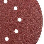 50 Disques Abrasif Disques ponçage 225mm Papier émeri ponceuse papier verre 4 types de grain aux choix (Grains #60) de la marque SurePromise image 2 produit