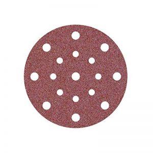 50 Disques abrasifs auto-agrippants MioTools pour ponceuse excentrique - Ø 150 mm - grain 120 - 17 trous de la marque MioTools image 0 produit