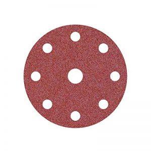 50 Disques de ponçage auto-agrippants MioTools pour ponceuse orbitale - ø 150 mm - grain 120 – 9 trous de la marque MioTools image 0 produit