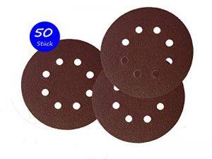 50Velcro de disques abrasifs Ø 125mm Grain 80pour Ponceuse excentrique de 8trous de la marque Goodway image 0 produit