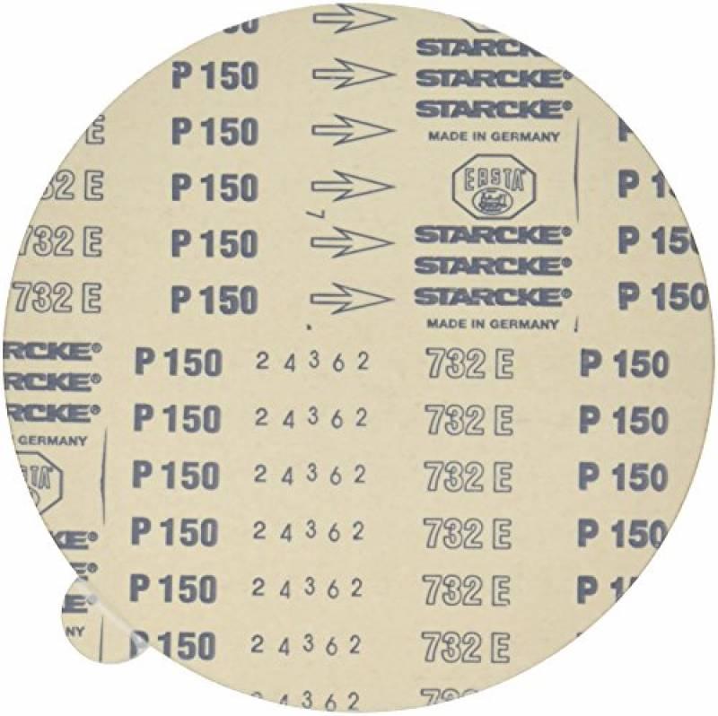 Awuko KN22T Lot de 50 disques abrasifs Corindon /Ø 125 mm Trou /étoil/é I022K Grain 60