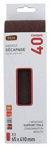 Bande abrasive 65 x 410 mm SCID - Grain 40 - Vendu par 3 de la marque Scid image 0 produit