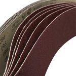 BESTOMZ Bandes abrasives pour Ponceuses à bande 915 x 100mm - 5 Pièces de la marque BESTOMZ image 2 produit