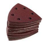 BESTOMZ Set de 60 feuilles abrasives abrasifs pour Ponceuse Grains 40/60/80/120/180/240 de la marque BESTOMZ image 4 produit