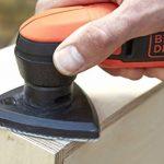 BLACK+DECKER BDCDS12N-XJ Ponceuse de Détail sans fil - 12 V - Plateau Triangulaire 89mm - Sans Batterie - 1 Abrasif Maille de la marque Black-Decker image 4 produit