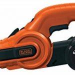 BLACK+DECKER KA900E-QS Lime Electrique Filaire - 350 W - 455*13 Mm - Usage Intermédiaire - 3 Bandes Abrasives - 1 Bras Droit 13 Mm - Interrupteur Anti-Poussière de la marque Black-Decker image 1 produit