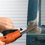 BLACK+DECKER KA900E-QS Lime Electrique Filaire - 350 W - 455*13 Mm - Usage Intermédiaire - 3 Bandes Abrasives - 1 Bras Droit 13 Mm - Interrupteur Anti-Poussière de la marque Black-Decker image 3 produit