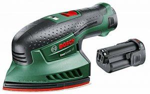 Bosch 060397690A Easysander 12 Ponceuse multi sans fil/technologie syneon avec 2 batteries 12 V 2,5 Ah de la marque Bosch image 0 produit