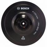 Bosch 1609200154 Plateau de ponçage auto-agrippant 125 mm, 8 mm Plateau de ponçage pour abrasif Ø 125 mm avec système auto-agrippant, 1 pièce de la marque Bosch image 1 produit