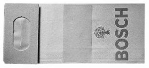 Bosch 2605411068 Sac à poussières pour ponceuses à bande, ponceuses excentriques, ponceuses vibrantes & entailleuses-rainureuses 10 pièces de la marque Bosch image 0 produit