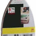 Bosch 2607017112 Set de 25 abrasifs pour Ponceuse multi 102 x 62 x 93 mm Grains 40/80/120/180 de la marque Bosch image 1 produit