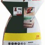 Bosch 2607017113 Set de 25 abrasifs pour Ponceuse Mouse Grains 80/120/180 de la marque Bosch image 1 produit