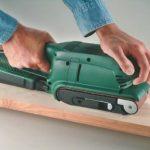 Bosch 2607017155 Set de 9 abrasifs pour Ponceuse à bande 75 x 533 mm Grains 3 X 60 + 3 x 80 + 3 x 100 de la marque Bosch image 2 produit