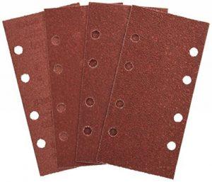 Bosch 2607019495 Lot de feuilles abrasives pour Ponceuse vibrante 8 trous 93 x 185 mm Grain 40-120 25 pièces de la marque Bosch image 0 produit