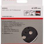 Bosch 2608000349 Plateau de ponçage pour Bosch GEX 125-1 AE Professional Mi-dur (Import Allemagne) de la marque Bosch image 2 produit