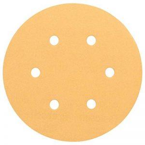 Bosch 2608605092 Disque abrasif pour ponceuse excentrique Ø 150 mm 6 Trous Grain 320 5 pièces de la marque Bosch image 0 produit