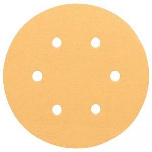Bosch 2608605102 Disque abrasif pour ponceuse excentrique Ø 150 mm 6 Trous Grain 60/120/240 6 pièces de la marque Bosch image 0 produit