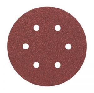 Bosch 2608605718 Disque abrasif pour ponceuse excentrique Ø 150 mm 6 Trous Grain 80 5 pièces de la marque Bosch image 0 produit