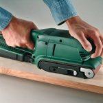 Bosch 2609256209 Set de 3 bandes abrasives pour Ponceuse à bande 75 x 457 mm Grain 60-80-100 x 1 de la marque Bosch image 2 produit