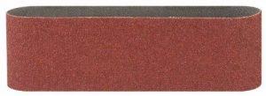 Bosch 2609256223 Bandes abrasives pour Ponceuses à bande Qualité rouge 100 x 560 Grain 80 Lot de 3 feuilles de la marque Bosch image 0 produit