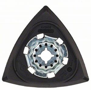 Bosch 2609256956 AVZ93G Plateau Abrasif Delta pour tous les Outils Multifonctionnels Bosch PMF de la marque Bosch image 0 produit