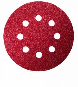 Bosch 2609256A15 Feuilles abrasives pour Ponceuses excentriques Diamètre 115 mm 8 trous Grain 40 Lot de 5 feuilles de la marque Bosch image 0 produit