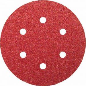 Bosch 2609256A30 Feuilles abrasives pour Ponceuses excentriques Diamètre 150 mm 6 trous Grain 60 Lot de 5 feuilles de la marque Bosch image 0 produit