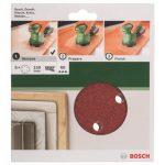 Bosch 2609256A30 Feuilles abrasives pour Ponceuses excentriques Diamètre 150 mm 6 trous Grain 60 Lot de 5 feuilles de la marque Bosch image 1 produit
