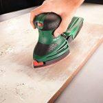 Bosch 2609256A67 Feuilles abrasives pour ponceuses multi 11 trous 102 x 62,93 Grain 40/120/180 10 pièces de la marque Bosch image 2 produit