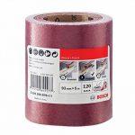 Bosch 2609256B76 Rouleau abrasif pour bois/peinture 93mm x 5m P120 de la marque Bosch image 1 produit